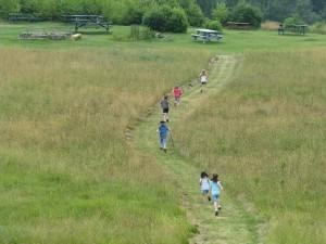 2011 SUMMER_FUN_ running through field